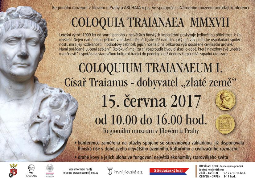 "ColoquiumTraianaeumI.–CísařTraianus–dobyvatel""zlatézemě"""