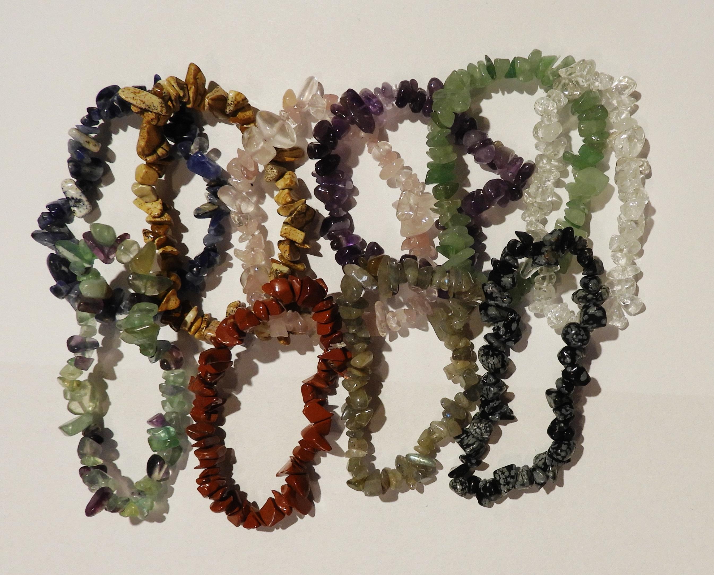 Minerály–náramky