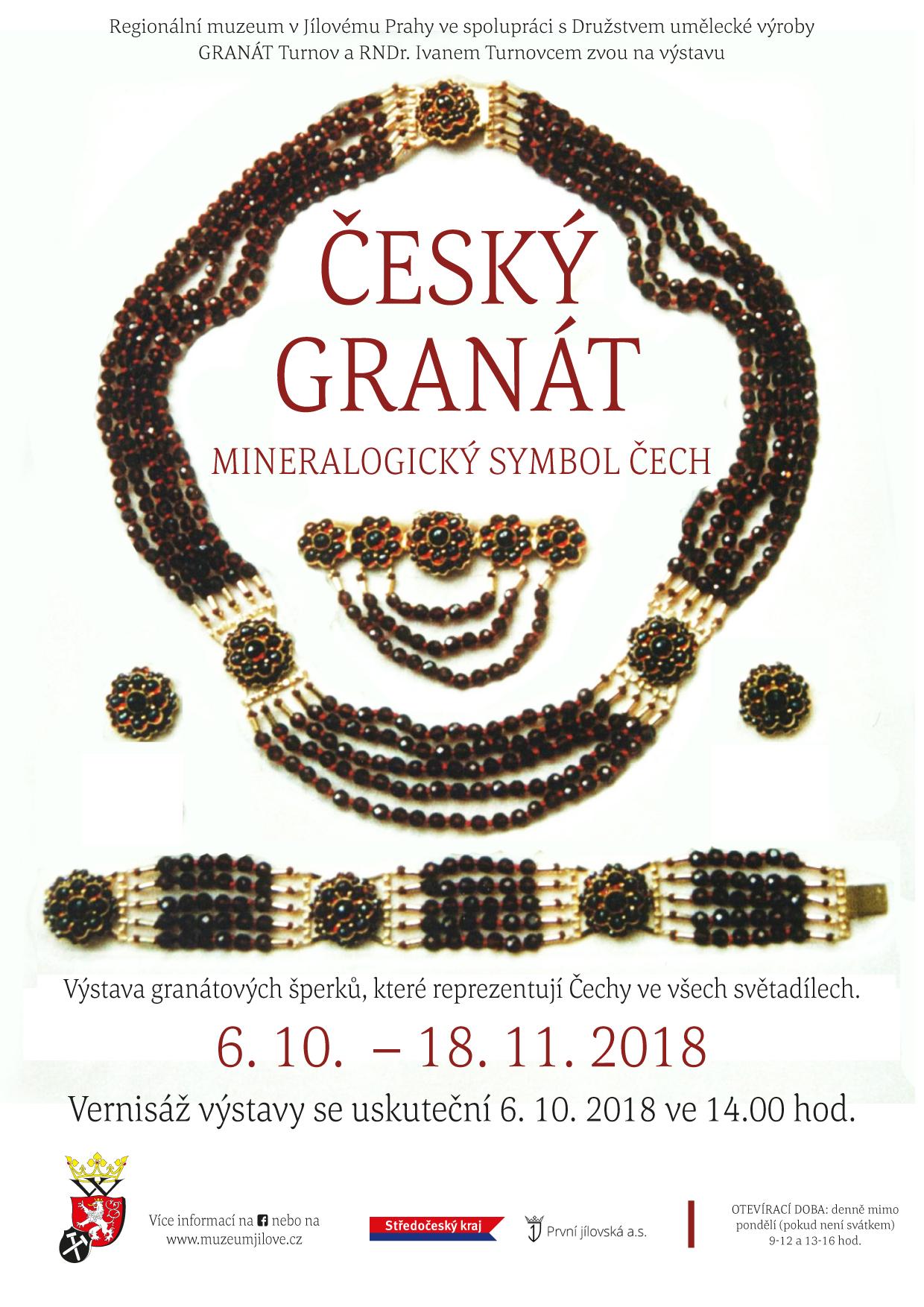 Českýgranát.MineralogickýsymbolČech.