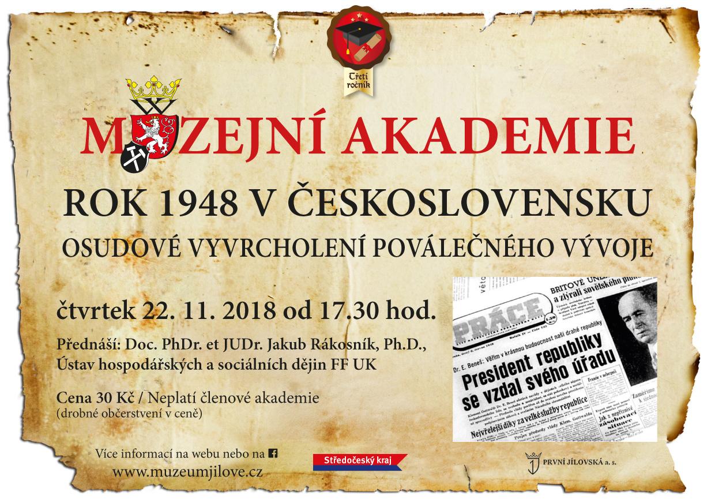 8.PřednáškaMA_Rok1948vČeskoslovensku