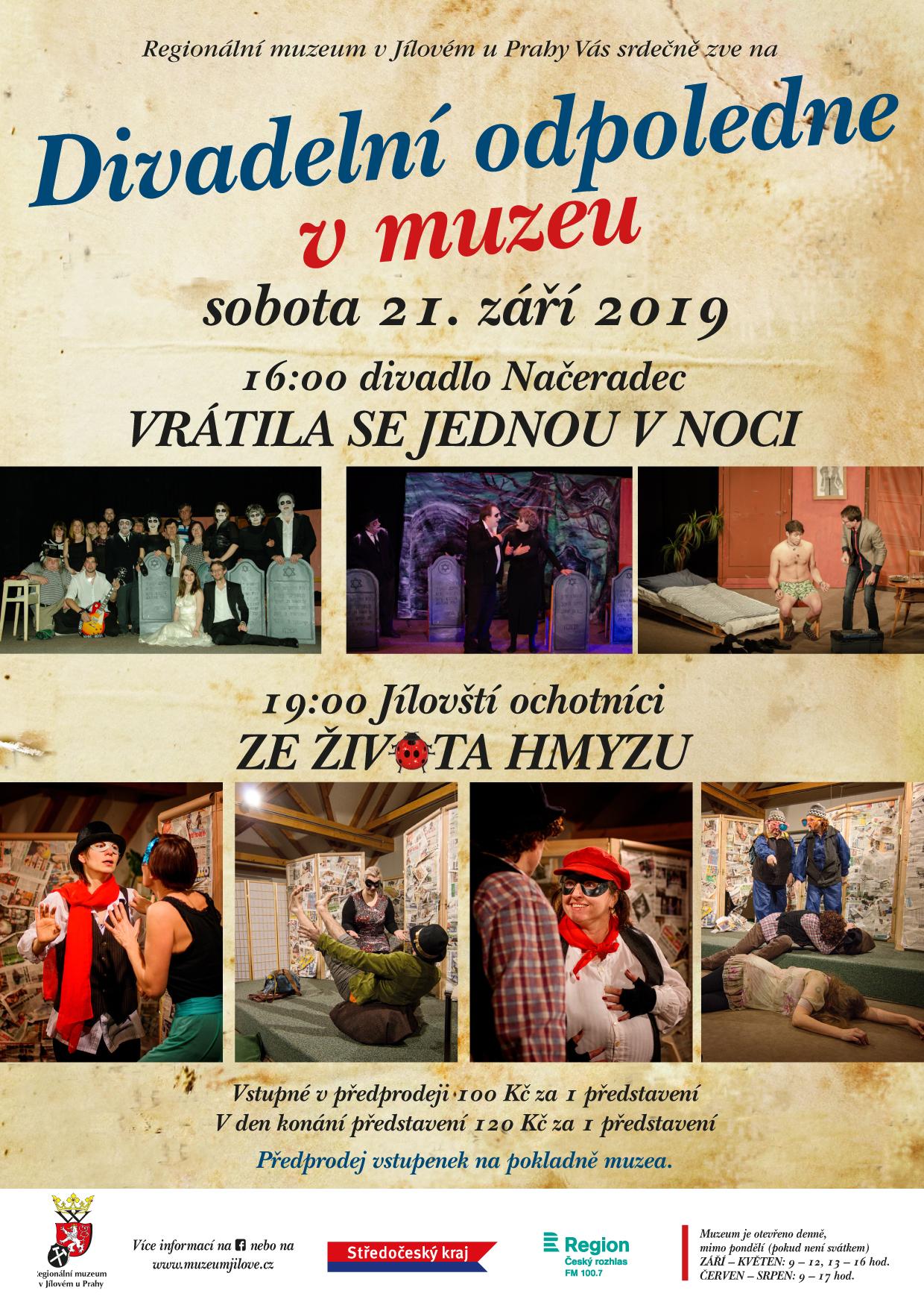 Divadelníodpolednevmuzeu