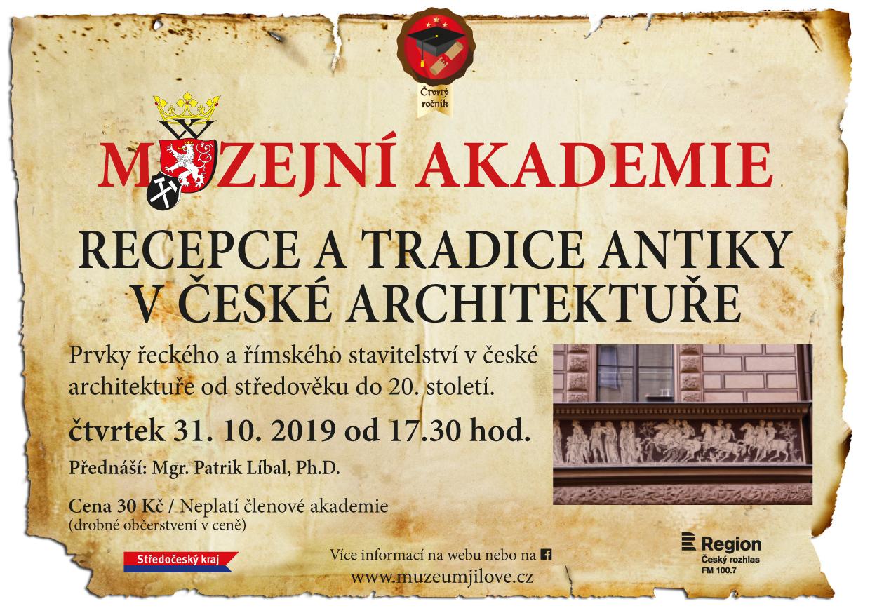 Muzejníakademie:Recepceatradiceantikyvčeskéarchitektuře